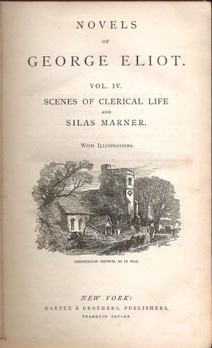 Image for Scenes of Clerical Life and Silas Marner (Novels of George Eliot, IV)