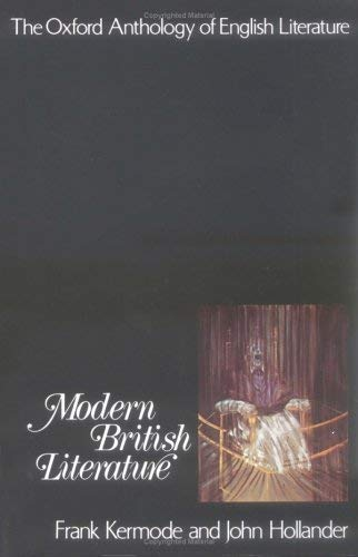 Image for The Oxford Anthology of English Literature: Volume VI: Modern British Literature