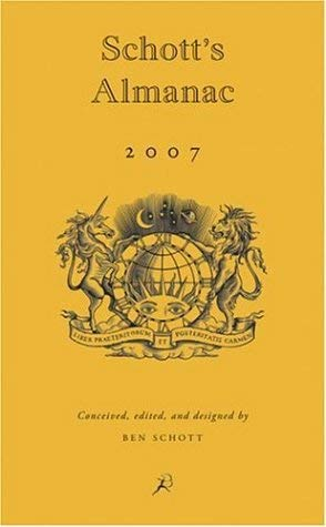Image for Schott's Almanac 2007