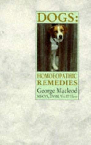 Image for Dogs: Homoeopathic Remedies
