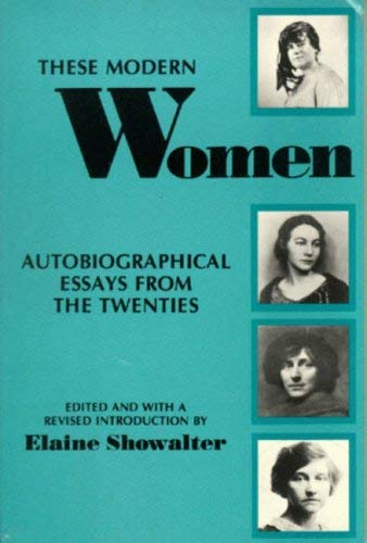 Image for These Modern Women: Autobiographical Essays from the Twenties Second Edition