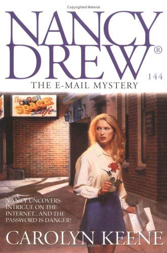 Image for The E-MAIL MYSTERY: NANCY DREW DIGEST #144