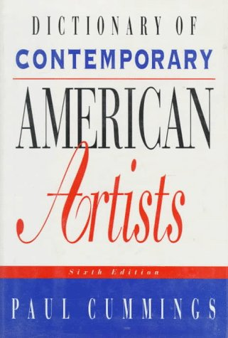 Image for Dictionary of Contemporary American Artists