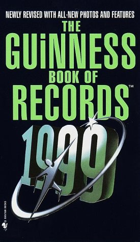 Image for The Guinness Book of World Records 1999 (Guinness World Records)