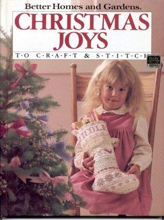Image for Better Homes and Gardens Christmas Joys to Craft & Stitch