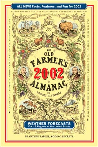 Image for The Old Farmers Almanac 2002 Paperback (Old Farmer's Almanac, 2002)