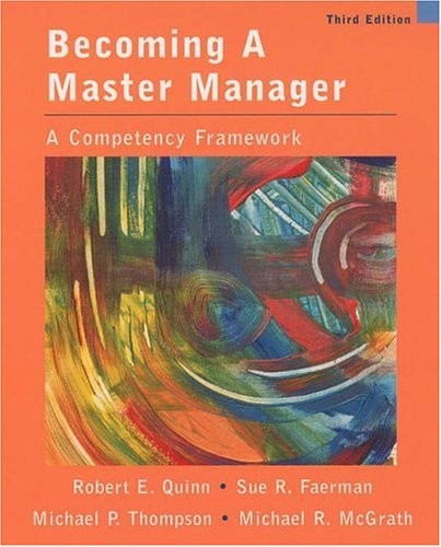 Image for Becoming A Master Manager: A Competency Framework