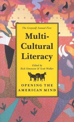Image for The Graywolf Annual Five: Multi-Cultural Literacy (No.5)