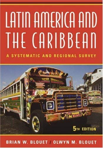 Image for Latin America and the Caribbean: A Systematic and Regional Survey