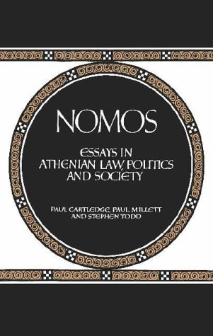 Image for Nomos: Essays in Athenian Law, Politics and Society