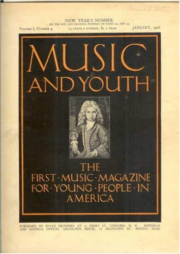 Image for Music and Youth (The First Music Magazine for Young People in America, Volume III, Christmas Number)