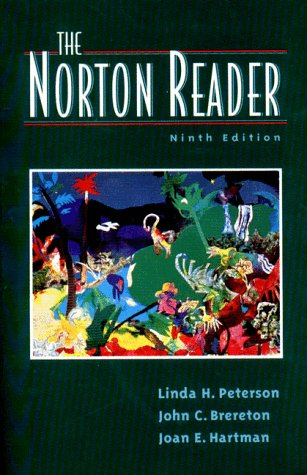 Image for The Norton Reader: An Anthology of Expository Pose (Ninth Edition)