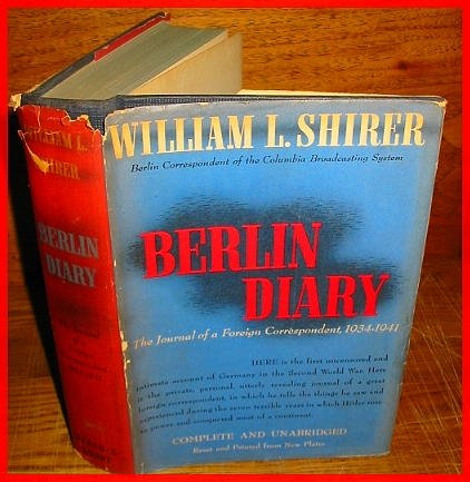 Image for BERLIN DIARY 1934-1941