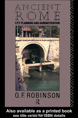 Image for Ancient Rome: City Planning and Administration