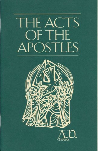 Image for The Acts of the Apostles A. D. 2000