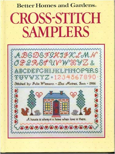 Image for Cross Stitch Samplers (Better Homes and Gardens)
